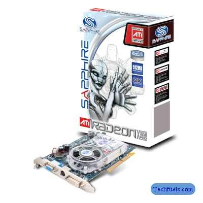 Sapphire RADEON X1650 PRO AGP Graphic Card