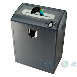 Cross Cut Cd credit card Shredder machine in Bangladesh